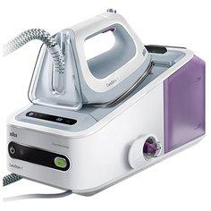 Парогенератор Braun IS 7043 WH белый/серебристый/фиолетовый