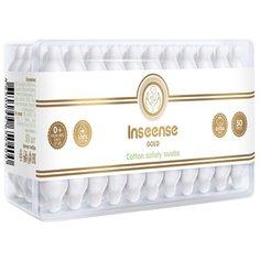 Ватные палочки Inseense Gold с ограничителями 50 шт. контейнер