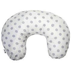 Подушка Candide для кормления + сумочка grey dots