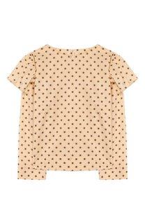 Хлопковая блузка Burberry