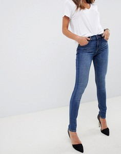 Облегающие джинсы с классической талией J Brand 620-Синий