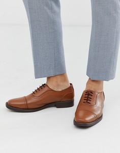 Светло-коричневые кожаные оксфордские туфли Redfoot-Светло-коричневый