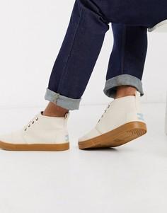 Светло-бежевые ботинки на шнуровке Toms-Светло-бежевый