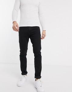 Черные джинсы скинни Hollister-Черный