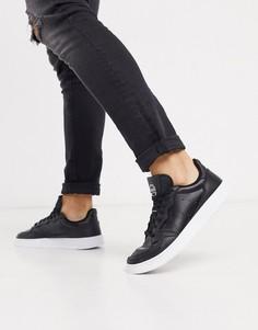 Черные кроссовки adidas Originals Supercourt-Черный