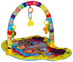 Развивающий игровой коврик S+S Toys для малышей с дугами и погремушками 100716305