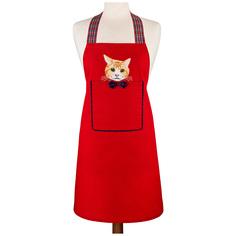 Фартук Santalino Котик Цвет: Красный (Стандартный)