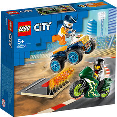 Конструктор LEGO City Turbo Wheels 60255: Команда каскадёров