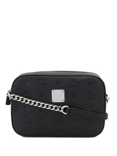 MCM сумка на плечо с тисненой монограммой