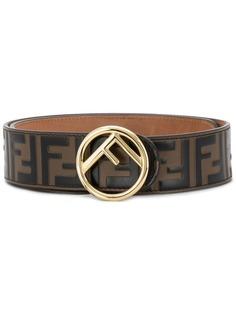 Fendi ремень с логотипом FF