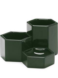 Vitra набор из трех контейнеров Hexagonal