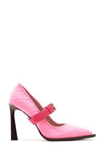 Туфли цвета фуксии Fendi