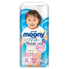 Трусики-подгузники Moony Girl для девочек (12-17 кг) шт.
