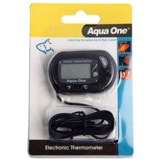 Термометр Aqua One ST 3 LCD Electronic черный