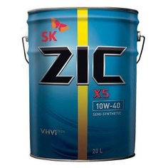 Моторное масло ZIC X5 DIESEL 10W-40 20 л