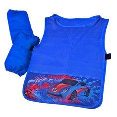 BG фартук-накидка с нарукавниками Super Car (ФНТ_пэ 2078) синий BG®