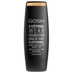 GOSH Тональный крем X-Ceptional Wear, 35 мл, оттенок: 16 Golden
