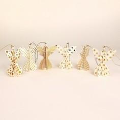 Набор декоративных елочных украшений EnjoyMe Angels, 6 шт.