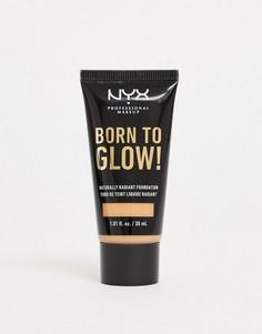 Основа под макияж NYX Professional Makeup - Born To Glow-Розовый