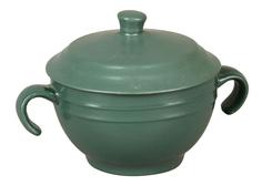 Супница с крышкой (зеленая) Rosenberg
