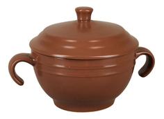 Супница с крышкой (коричневая) Rosenberg