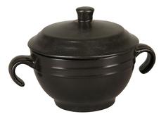 Супница с крышкой (черная) Rosenberg