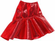 Одежда для кукол Barbie Юбка красная FXH83