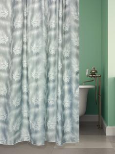 Штора для ванной BATH PLUS FLOATING FEATHER, grey