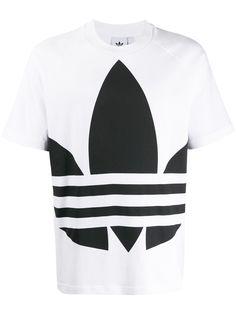 adidas футболка с логотипом