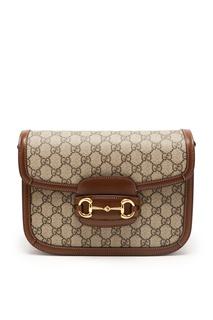 Маленькая сумка 1955 с пряжкой Horsebit Gucci