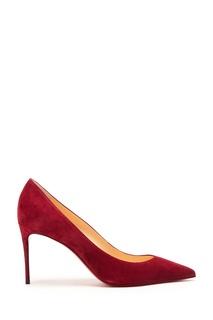 Бордовые туфли Kate 85 Christian Louboutin
