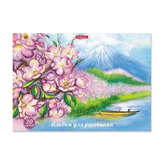 Альбом для рисования Erich Krause Цветущая Япония
