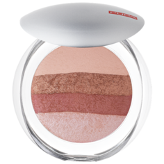 Pupa Luminys Румяна-пудра-иллюминатор Baked All Over Illuminating Blush-Powder 01 stripes rose
