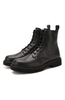 Кожаные ботинки Valentino Garavani VLNT Valentino