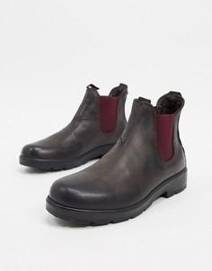 Коричневые кожаные ботинки челси Rule London-Коричневый