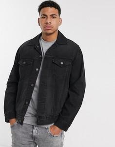 Черная свободная джинсовая куртка в винтажном стиле Levis-Черный Levis®