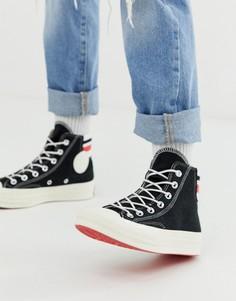 Высокие кеды в стиле 80-х Converse Chuck 70-Черный
