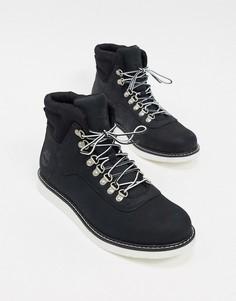 Черные ботинки Timberland-Черный