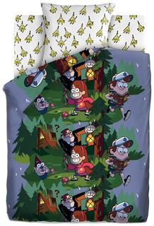 Комплект постельного белья Disney Гравити Фолз Хижина Чудес 1,5 сп 4063860