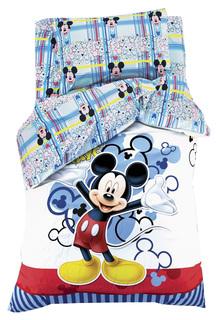 Комплект постельного белья Disney Микки Маус Разноцветный