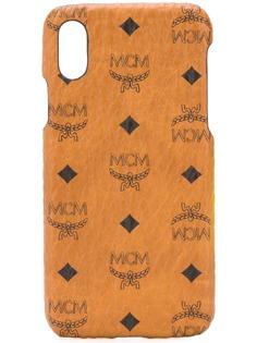 MCM чехол для iPhone X с логотипом