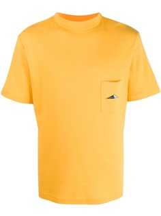 Anglozine футболка с короткими рукавами и карманом