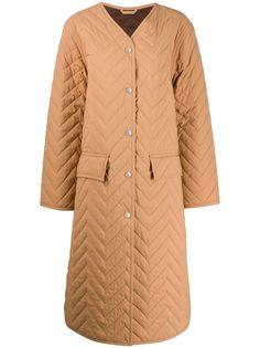 Acne Studios стеганое пальто