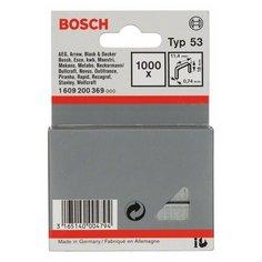Скобы BOSCH 1609200369 тип 53