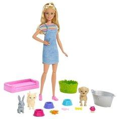 Кукла Barbie и домашние питомцы