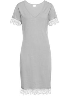 Платье с кружевной отделкой Bonprix