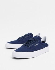 Темно-синие кроссовки adidas Originals 3MC-Темно-синий