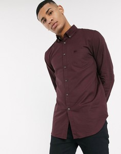 Рубашка с длинными рукавами Lacoste-Черный