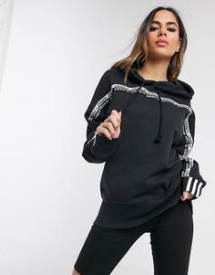 Худи черного цвета adidas Originals RYV-Черный