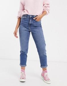 Синие джинсы в винтажном стиле New Look-Синий